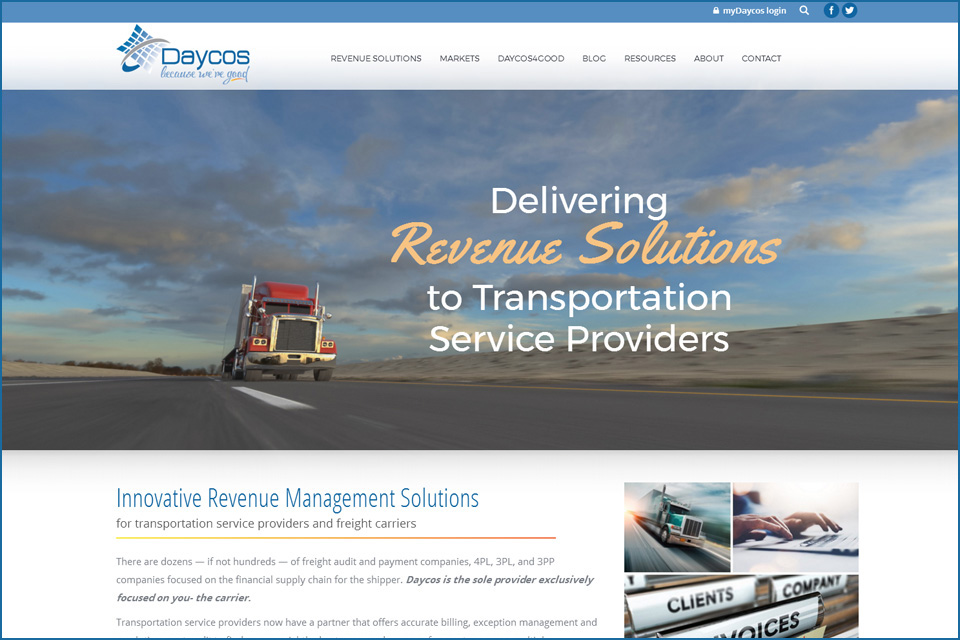 New Website for Daycos